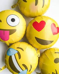 Halloween Birthday Balloons by Emoji Balloons New Emoticon Balloon 18