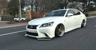 lexus is250 f sport front lip cliff u0027s bagged gs f sport lexus on ssr wheels southrnfresh