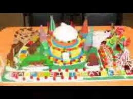 candyland cake decoration ideas youtube