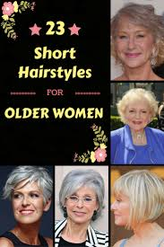 classy u0026 simple 23 short hairstyles for older women zoomzee org