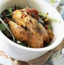 poule faisane au genièvre et mélange forestier cuisine plurielles fr
