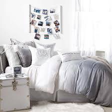 grey ombre duvet cover and sham set u2013 dormify