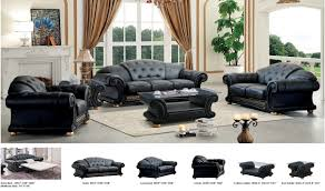 Set Of Chairs For Living Room by Versa Living Room Set In Black Free Shipping Get Furniture