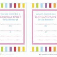 create your own birthday invitation justsingit