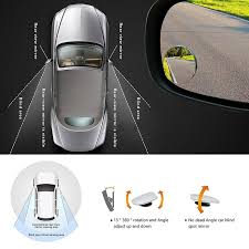 No Blind Spot Rear View Mirror Reviews 2pcs 2inch Round Car Blind Spot Rearview Mirrors Rearview Wide