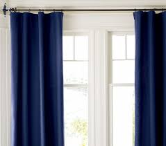 Navy Velvet Drapes Curtains Emily Henderson Decorate The House With Beautiful Curtains
