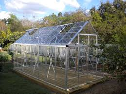 Palram Lean To Greenhouse Poly Tex Snap U0026 Grow 8x16 Silver Greenhouse Hg8016 Free Shipping