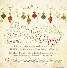 merry invitations 2017 celebration festive