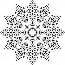 black oriental ottoman design thirty five u2014 stock vector