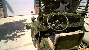 army jeep 1944 willy s mb ex us army jeep youtube