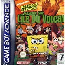 jeux de bob l 駱onge en cuisine bob l eponge attaque sur l ile du volcan jeu con achat vente