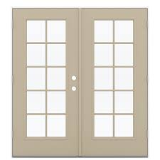 Reliabilt French Patio Doors by Shop Reliabilt 71 5 In X 79 5 In Right Hand Outswing Steel French