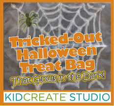 tricked out halloween treat bag kidcreate studio