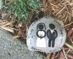 memory stones wedding memory stones