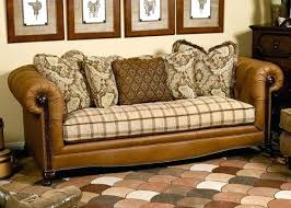 Leather Sofa Cushions Leather Repair Impressive Fabric Leather Sofa Repairing And
