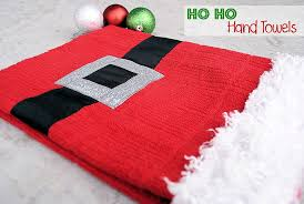 diy christmas towels projects
