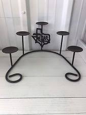 Large Candle Holders For Fireplace by Rustic Primitive Candle Candelabras Ebay