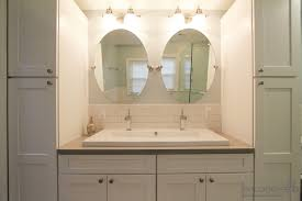 uncategorized trough bathroom sink with two faucets sinks and