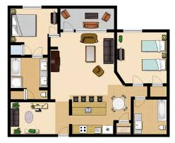 2 Bedroom Condo Floor Plans 2 Bedroom Premium Vista Cay Resort