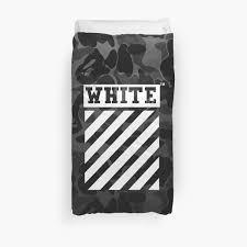 Black Duvet Covers Off White Bape Camo Black
