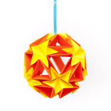 decorations accents archives yapoma bazaar flower ball origami ornament hanging home decor