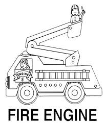 get this fire truck coloring pages free to print 40501