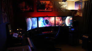 gaming setup simulator cool computer setups and gaming setups