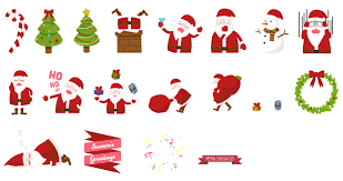 christmas stickers christmas stickers by lalabell on deviantart