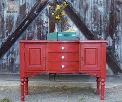 Painted Buffets And Sideboards by Renew Old Furniture With Color Painted Buffet Buffet And Vintage