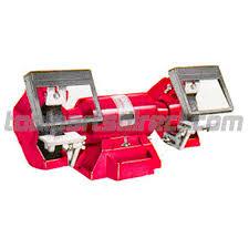 milwaukee 5051 w10 86 3 4 h p bench grinder w lighted eyeshields