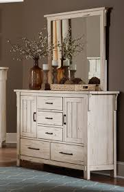 homelegance terrace dresser with doors antique white 1907w 5