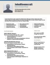 Msl Resume 22 Contemporary Resume Templates Free Download