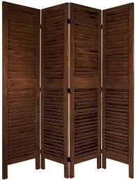 oriental furniture simple louvered door room divider 5 5 feet