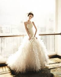 35 gorgeous photos of korean celebrities in wedding dresses
