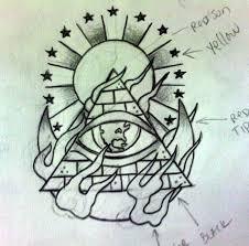 sketches for pyramid tattoo sketch www sketchesxo com