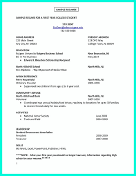 Student Part Time Job Resume by Current College Student Resume Is Designed For Fresh Graduate