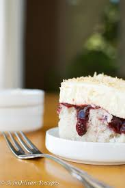 raspberry coconut poke cake a bajillian recipes