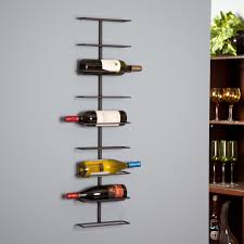 metal wine rack table decor chic wrought iron oenophilia wall wine rack ledge 9 bottle on