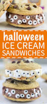 halloween themed appetizers adults spooky halloween ice cream sandwich what molly made
