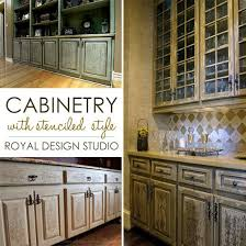 kitchen stencil ideas stencil project ideas for stenciling kitchen cabinets and doors