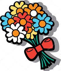 cartoon flowers u2014 stock vector clipartguy 17254027