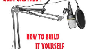 hmonghot com diy mic stand from a lamp