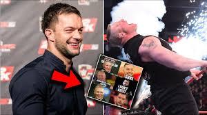 Brock Lesnar Meme - the funniest meme of finn balor about facing brock lesnar youtube