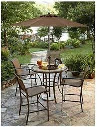 kmart patio furniture jaclyn smith cora 5 dining chairs sage