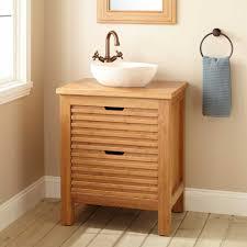 bathroom sink bamboo vessel faucet bathroom cabinets bamboo