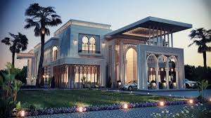 heteen palace type a on behance arabic exterior design