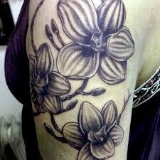 7 orchid half sleeve tattoos