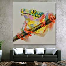 Hanging Decorations For Home Frog On The Tree Picture Cantoon Animal Wall Hanging Decorations