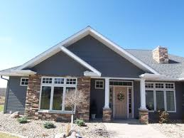 Beautiful Brown Color Nuance Natural Brown Nuance Of The Concrete Blocks And Siding Houses Can