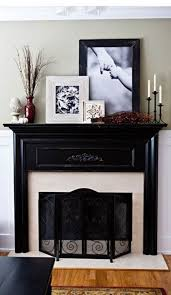 remarkable ideas for decorating above a fireplace mantel pictures